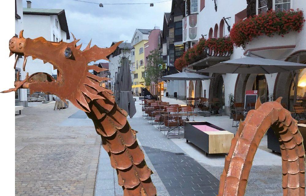 Kunstprojekt in der Klimaschutzzone am Untermarkt!